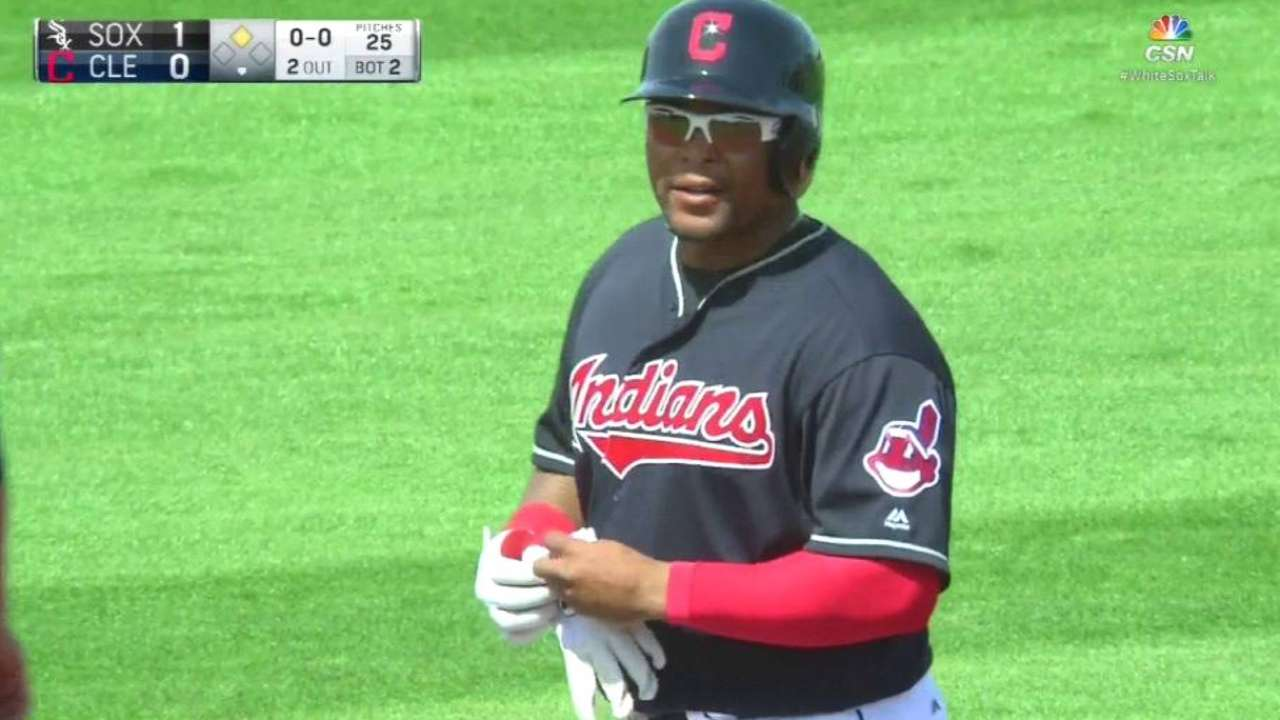 Byrd makes Tribe after Chisenhall's setback