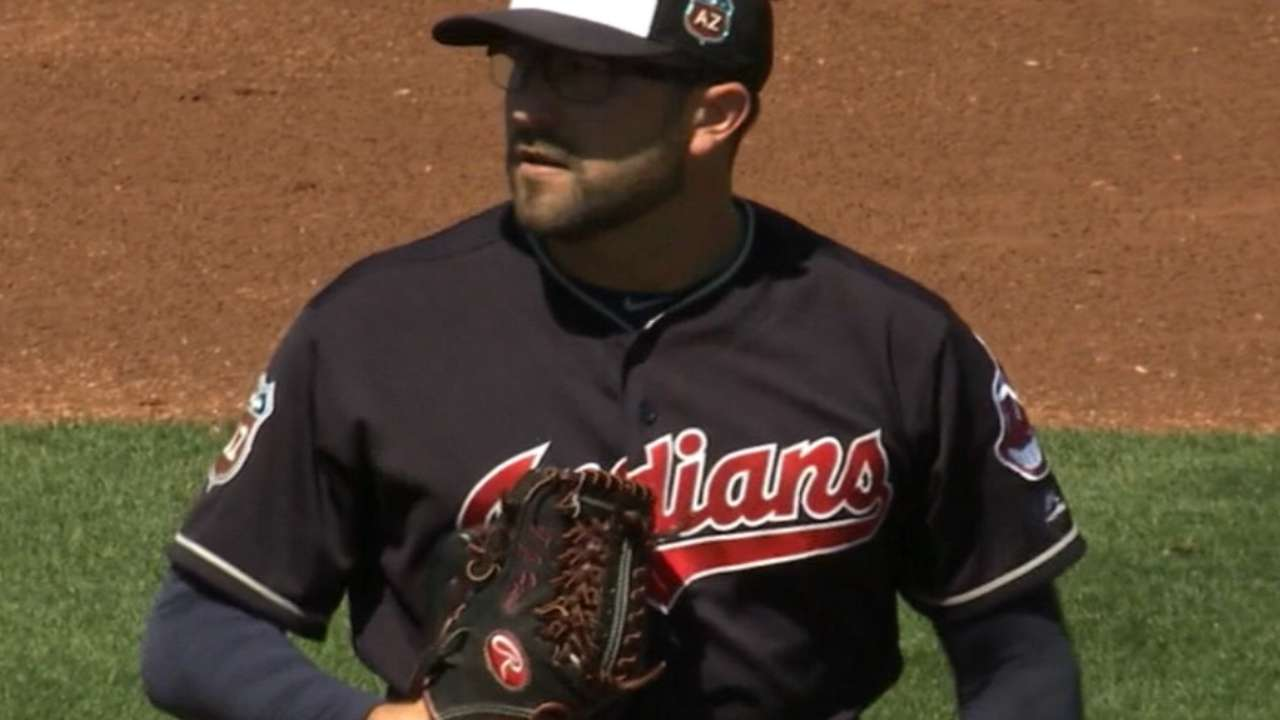 Indians option House to narrow rotation battle