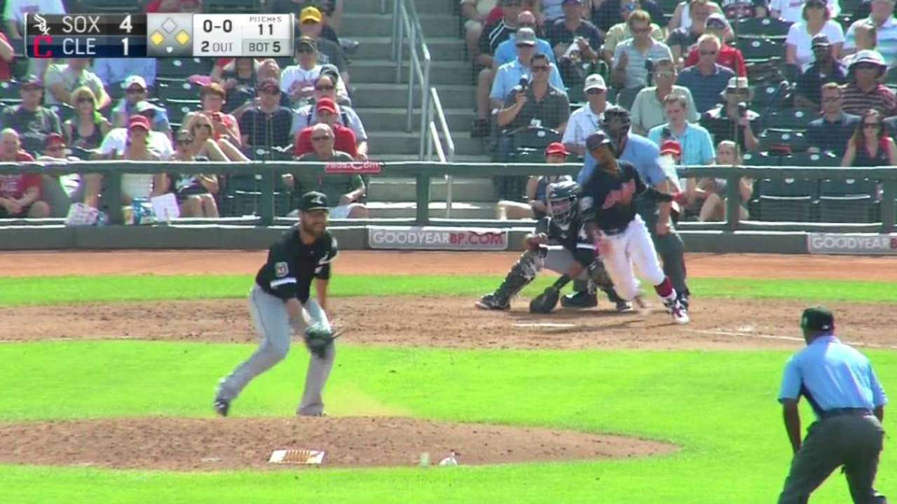 Lindor's RBI single
