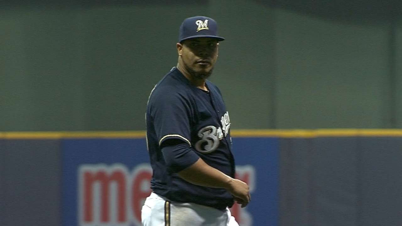 Peralta tabbed for Opening Day