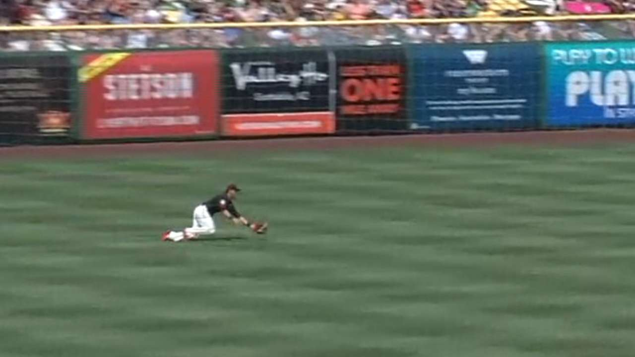 Pagan's great catch