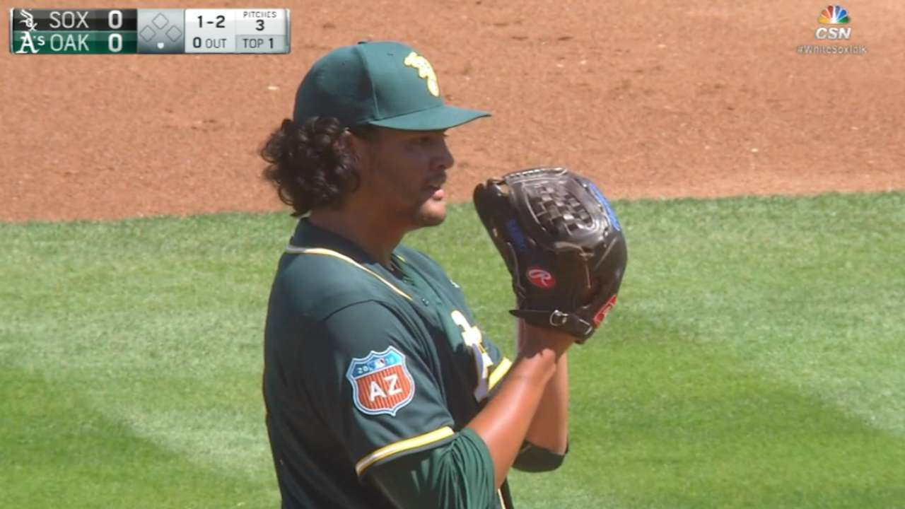 Manaea's wait to join A's won't be long