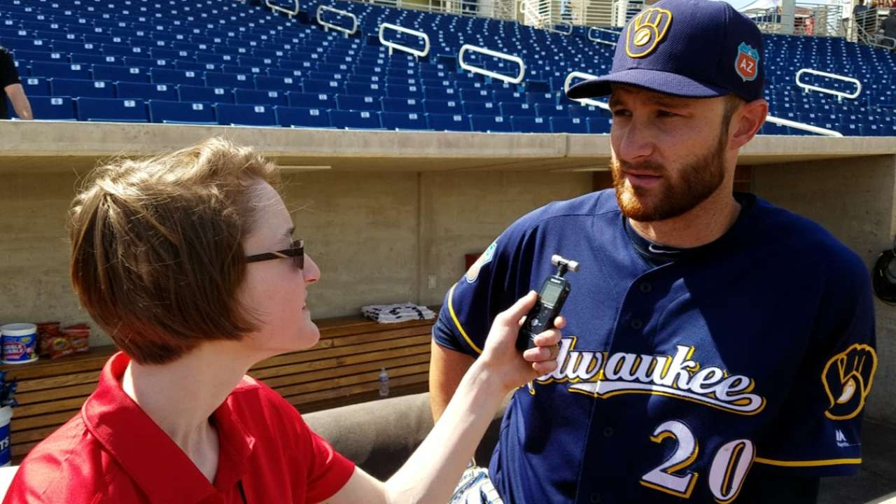Lucroy hopeful little things result in wins