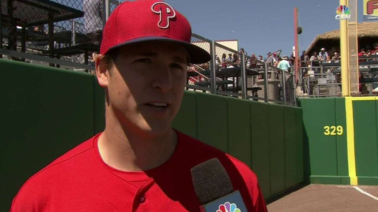 Eickhoff on progress in outing