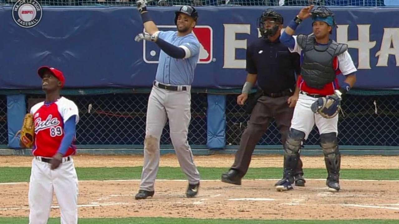 Loney's two-run homer