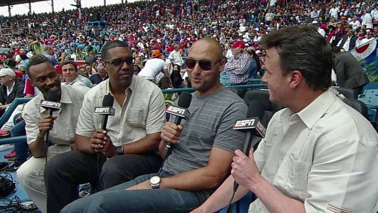 Jeter on speaking with Obama