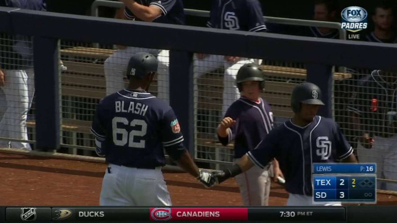 Blash's solo shot