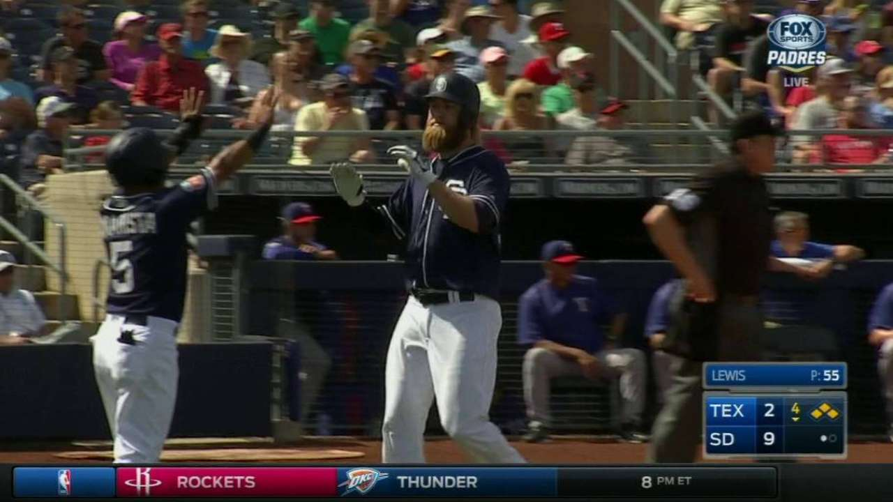 Spangenberg looks to be second to none for Padres