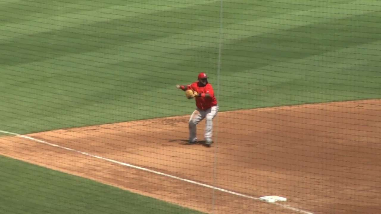 Sandoval's great play