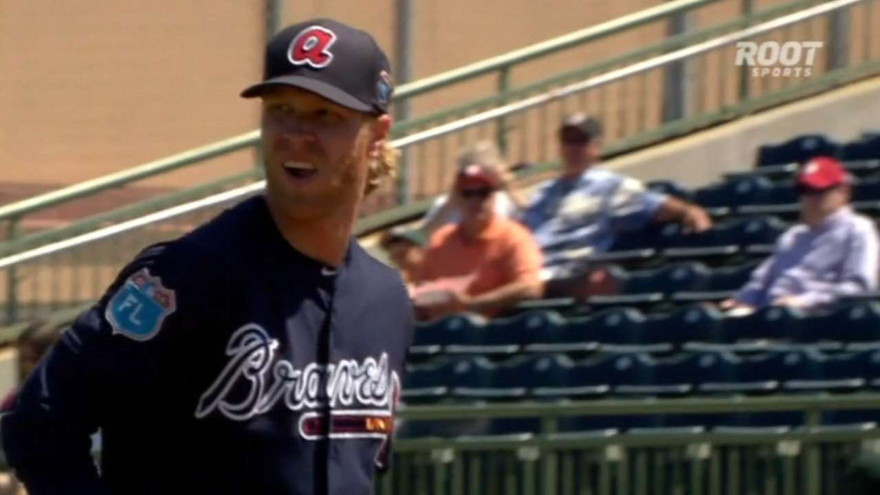 Foltynewicz optioned to Triple-A Gwinnett