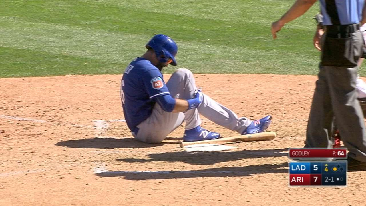 Ethier begins rehab assignment in Class A