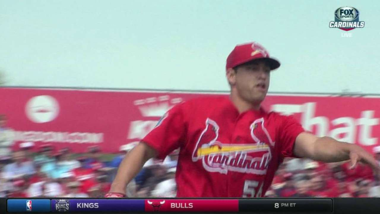 Cards prospect Gonzales lost for season