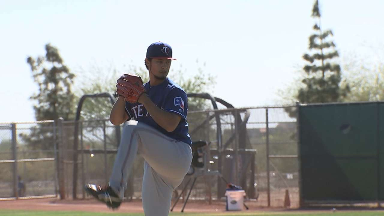 Darvish ready for next step: facing hitters