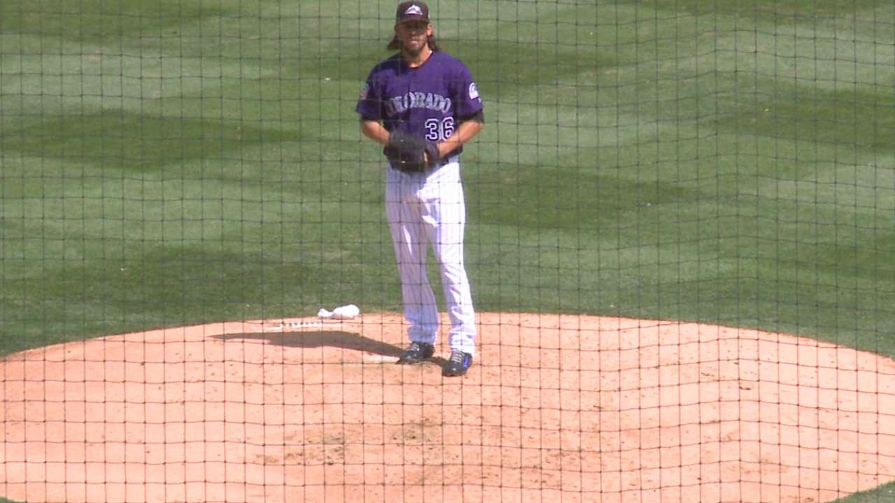 Versatile Bergman proving valuable to Rockies' staff