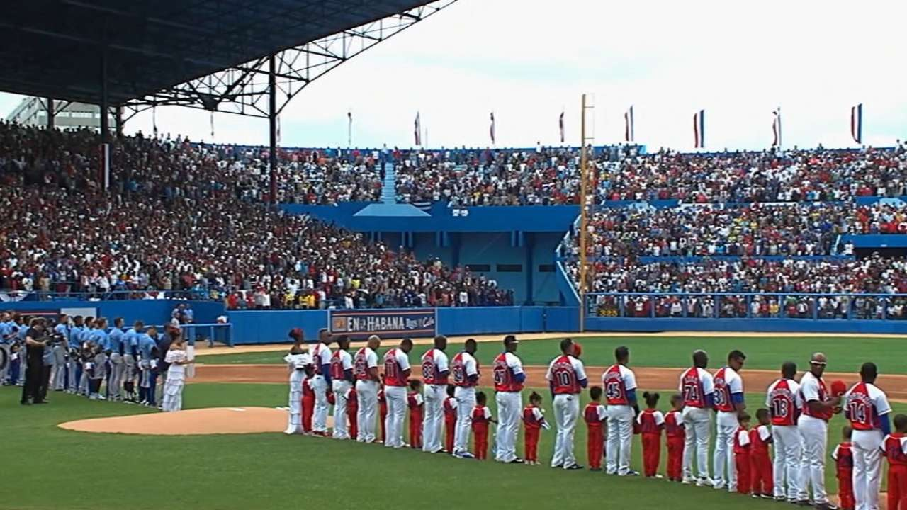 'Power of Baseball': Crowd of 55,000 in Cuba