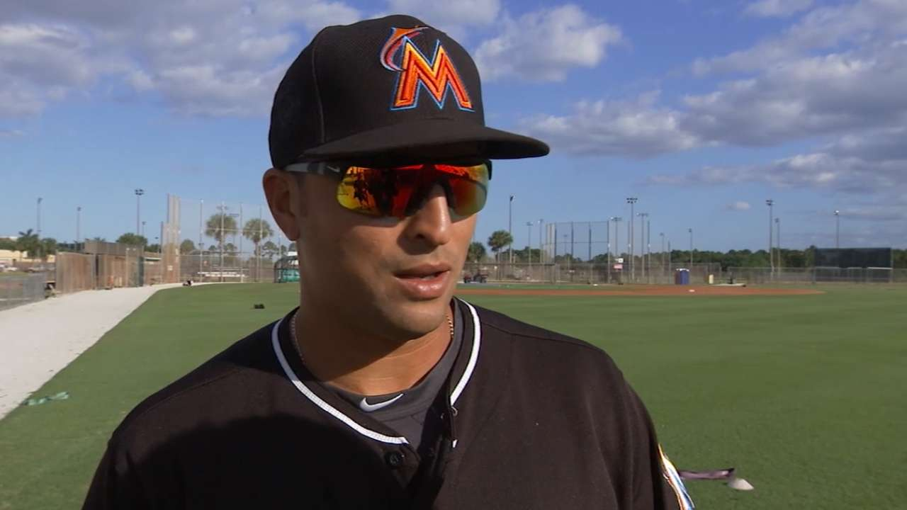 Martin Prado on Marlins camp