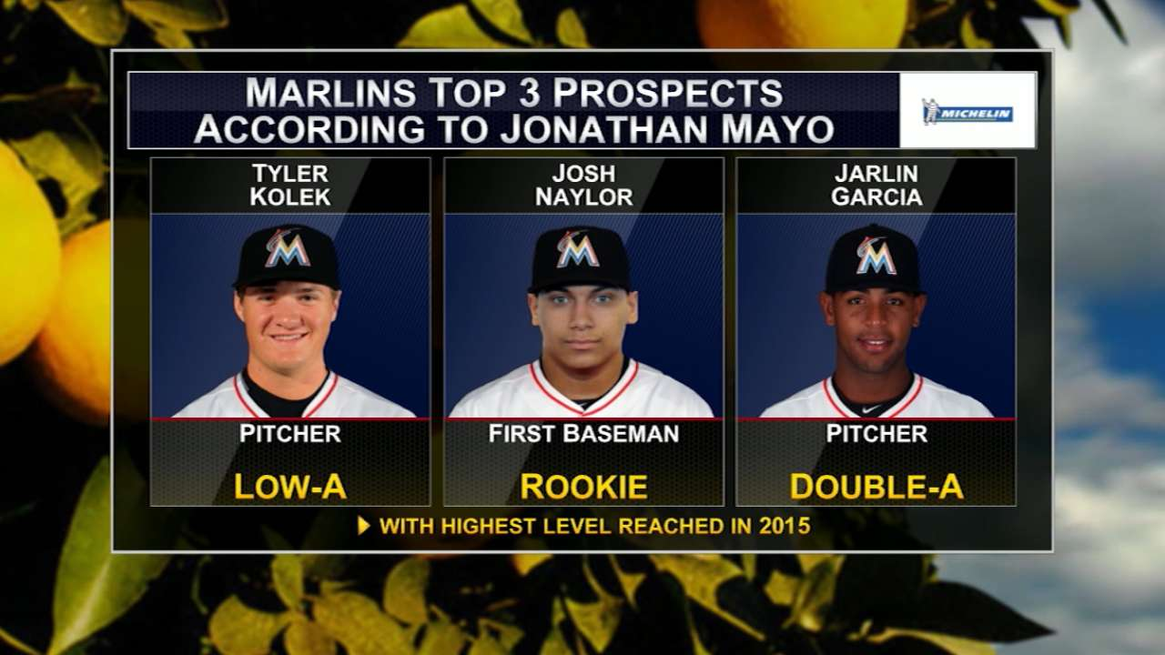 Mayo's top Marlins prospects