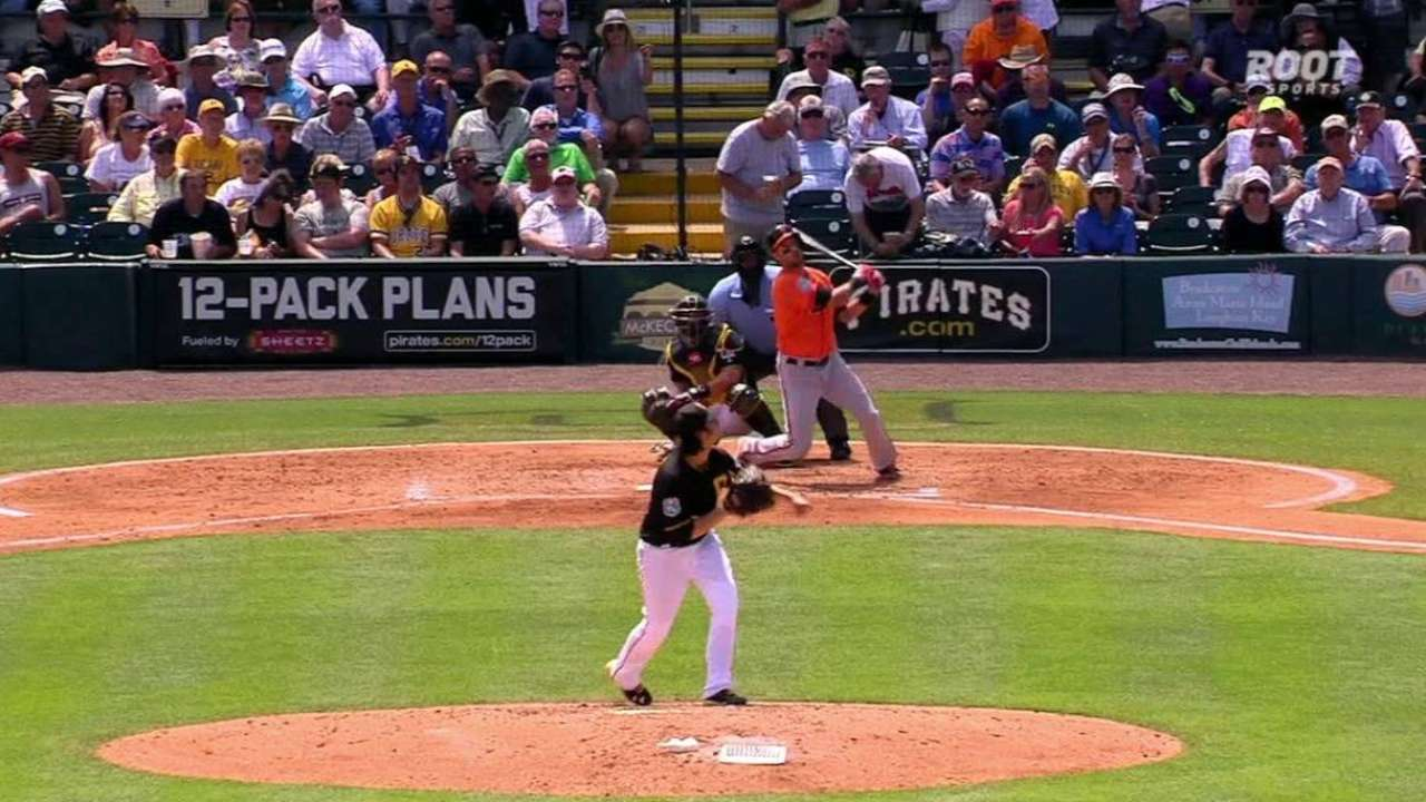 Janish's solo home run