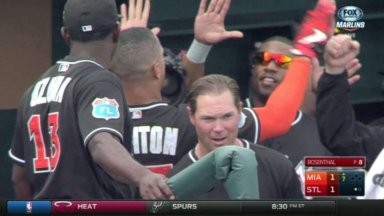 Stanton's homer ties game