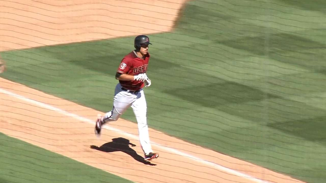 Lamb's three-run home run