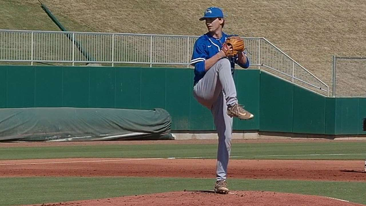 Draft prospect Garrett flourishing at 2016 NHSI