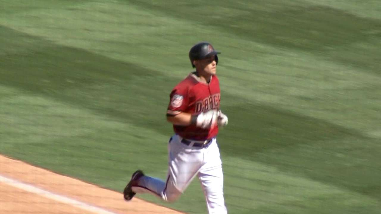 Owings' leadoff home run