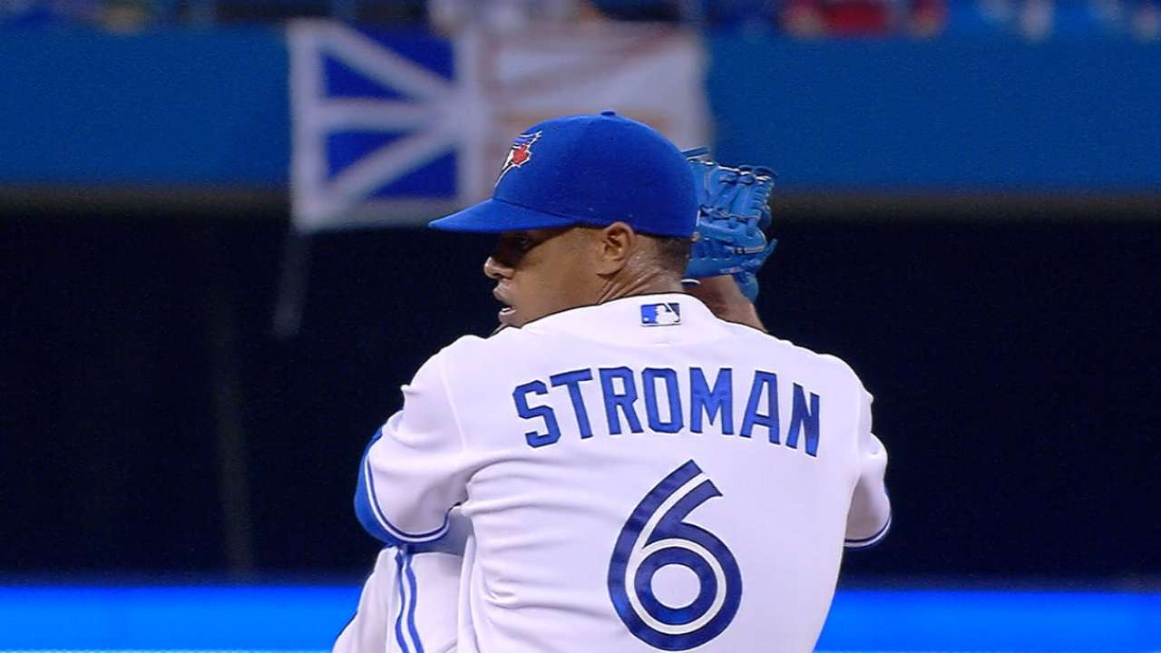 Stroman excited to soak in first Opening Day