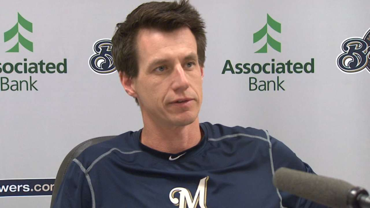 Brewers looking at 7 spots to finalize roster