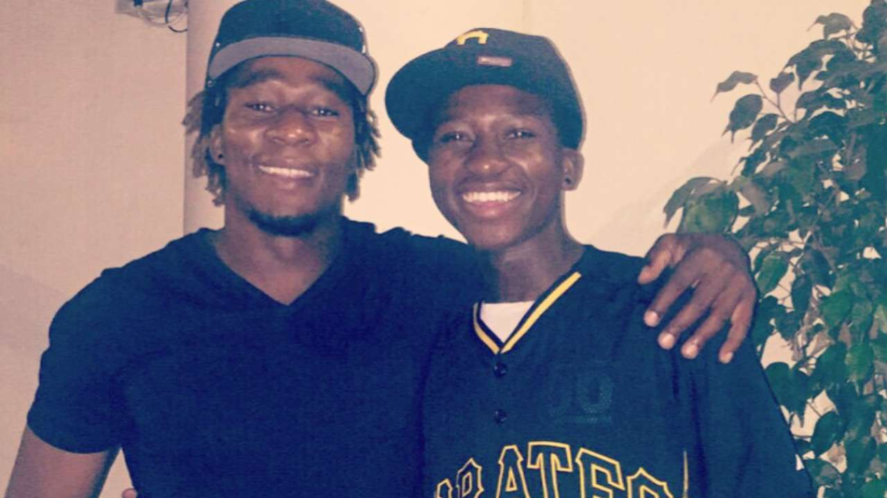 Ngoepe brothers reunite on other side of world