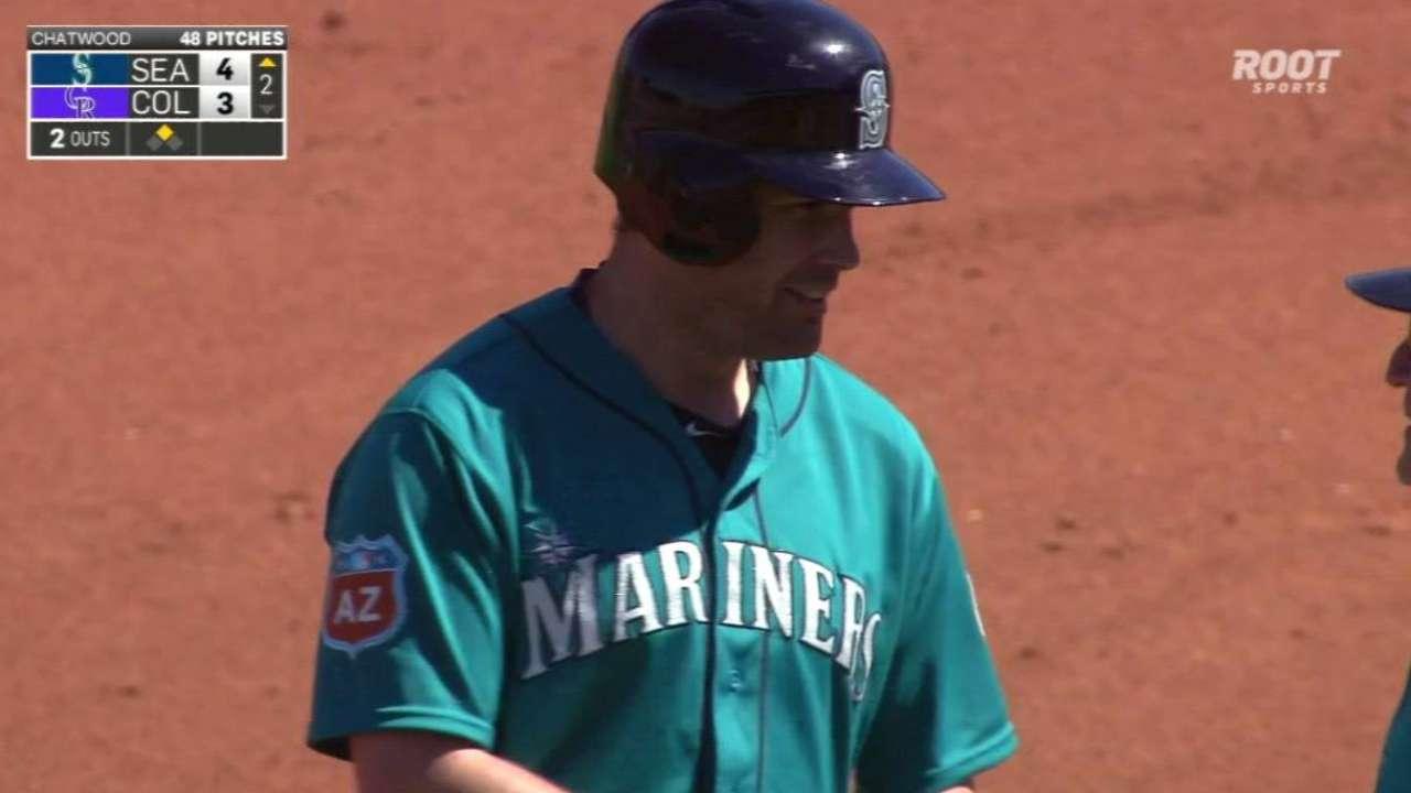 Smith, Cruz fuel Mariners' bats vs. Rockies