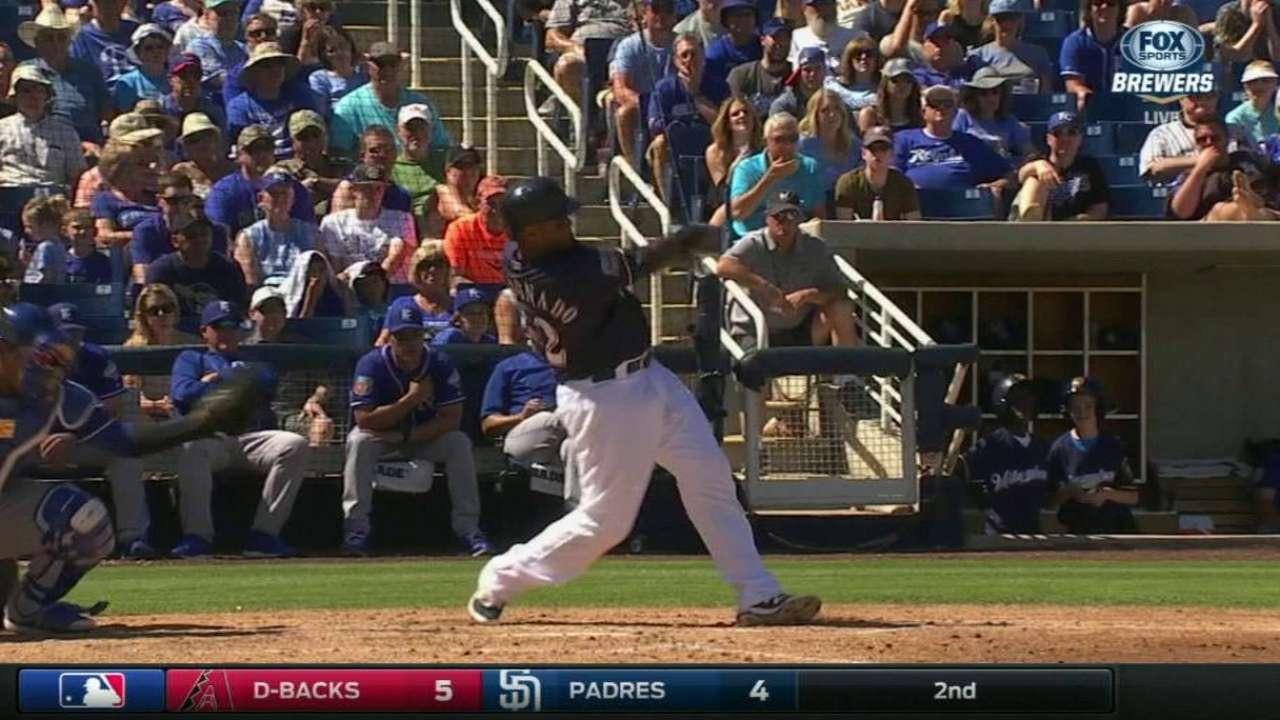 Maldonado's three-run homer