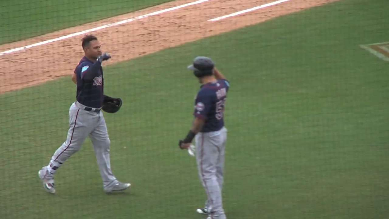 Arcia's two-homer game