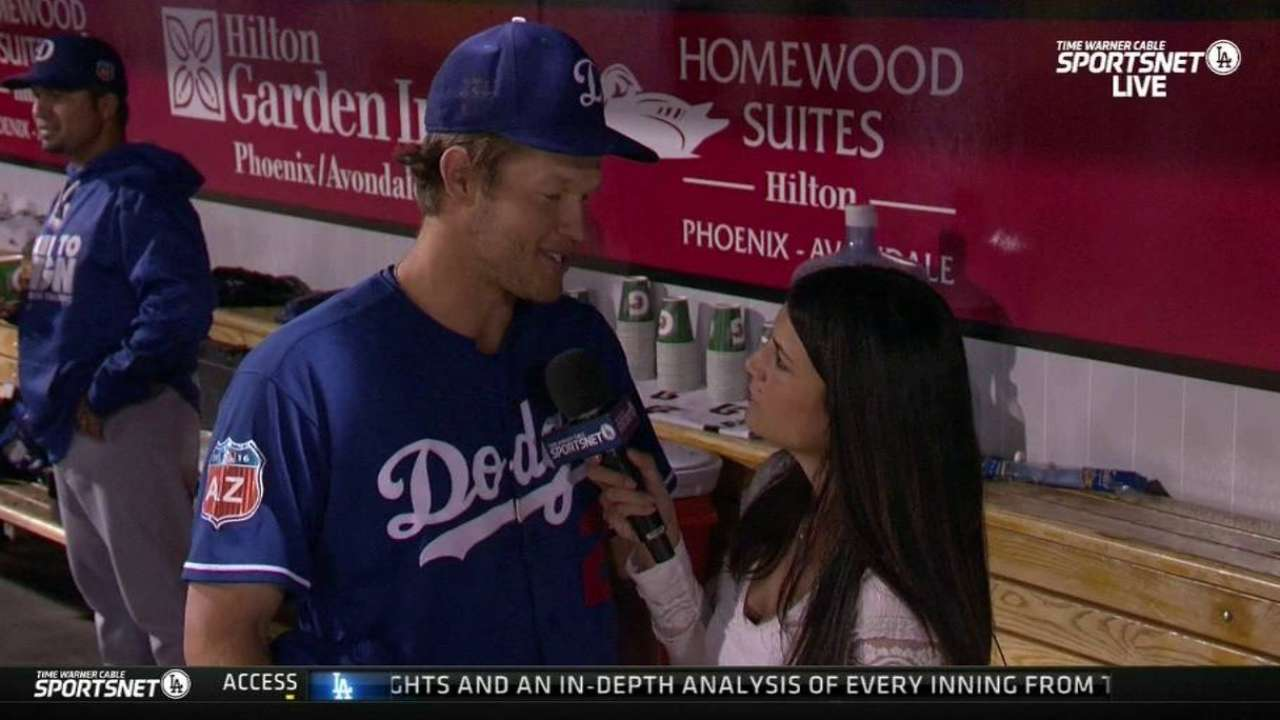 Kershaw disappointed with lack of command