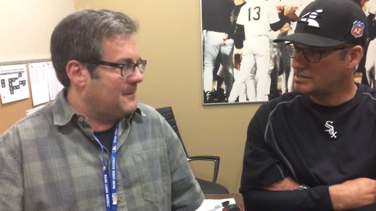 After solid camp, Ventura confident for '16