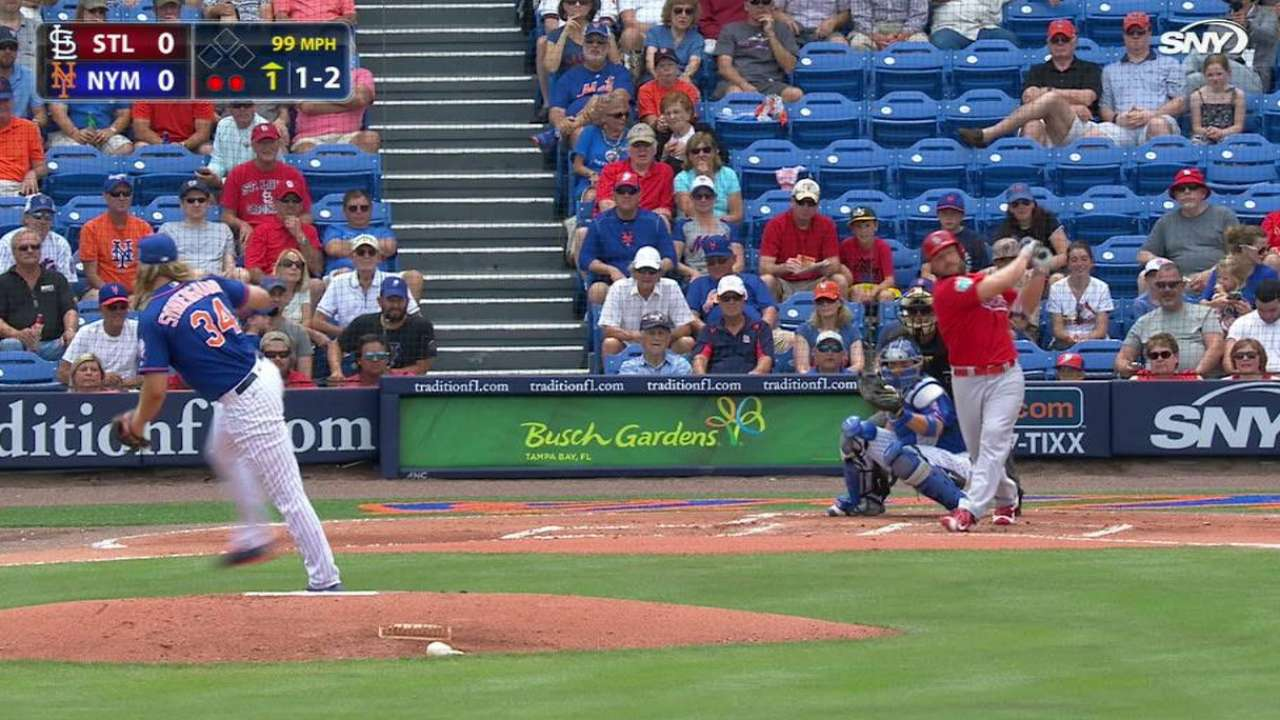 Syndergaard strikes out Holliday