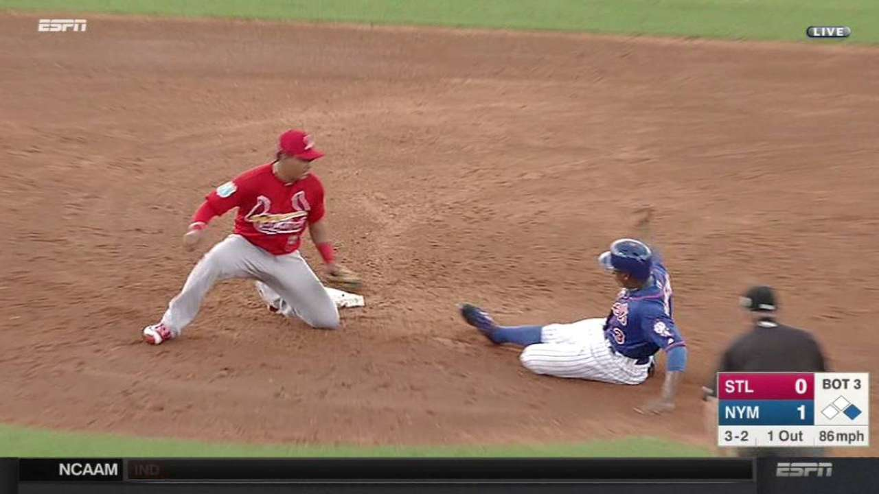 Cardinals complete double play