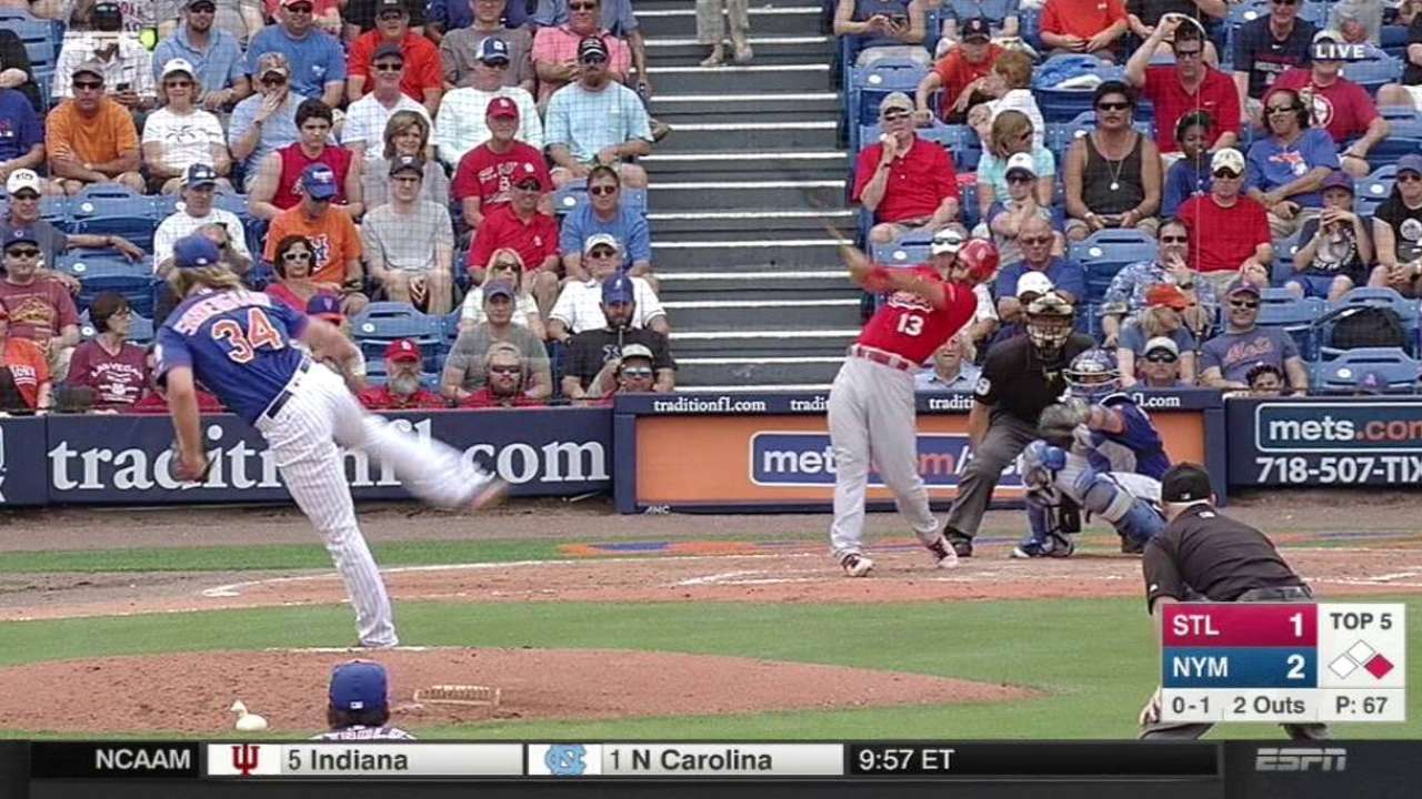 Carpenter's RBI double