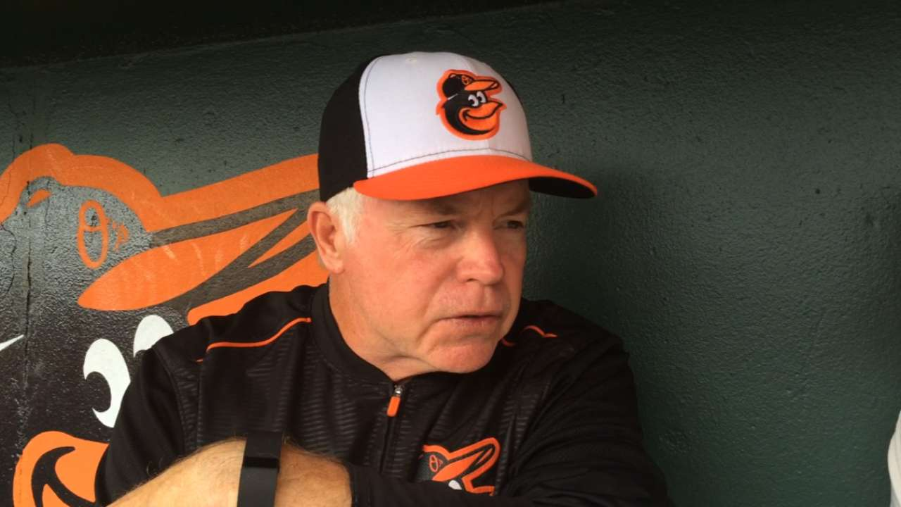 Showalter expounds on well-rounded roster