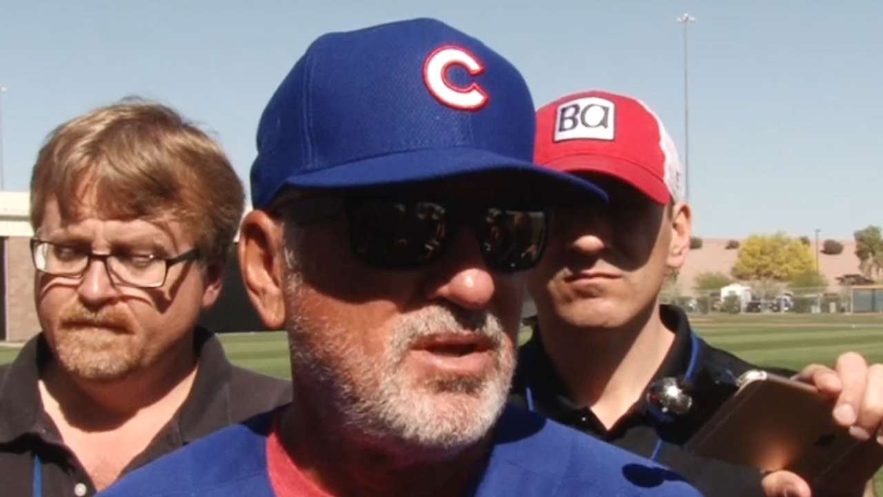 Maddon on Arrieta's blister