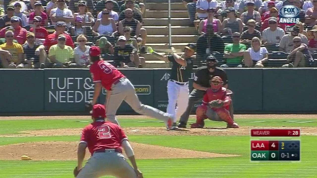 Maxwell's solo homer