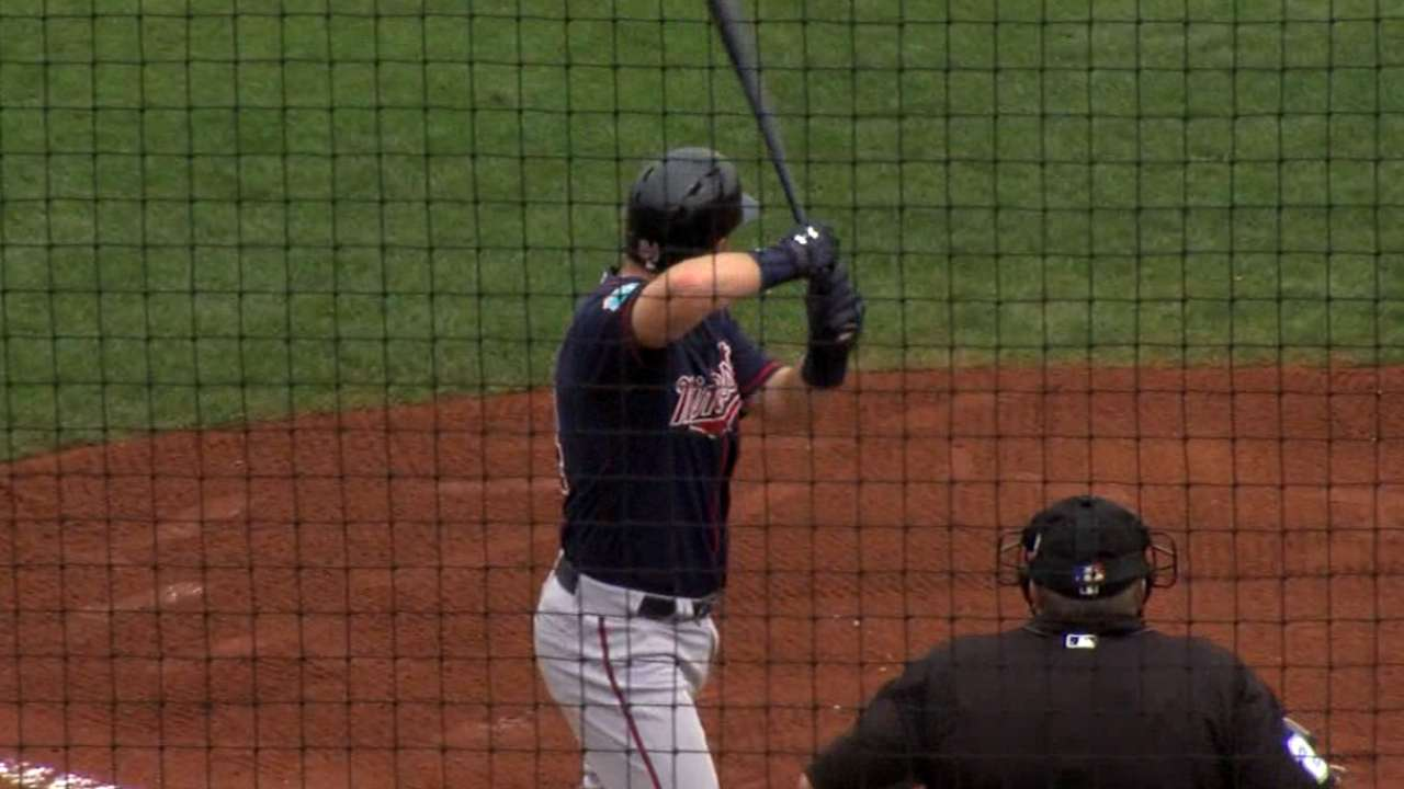 Plouffe's two-homer game