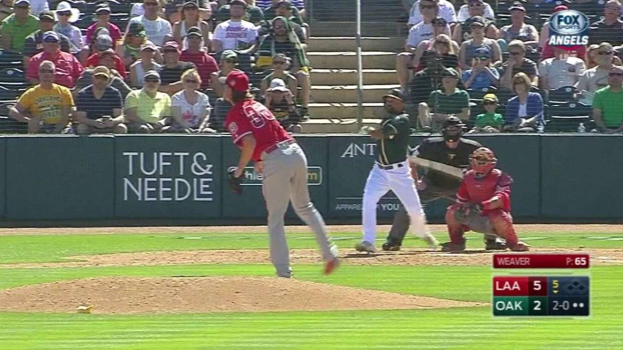 Crisp out to prove he can be valuable to A's