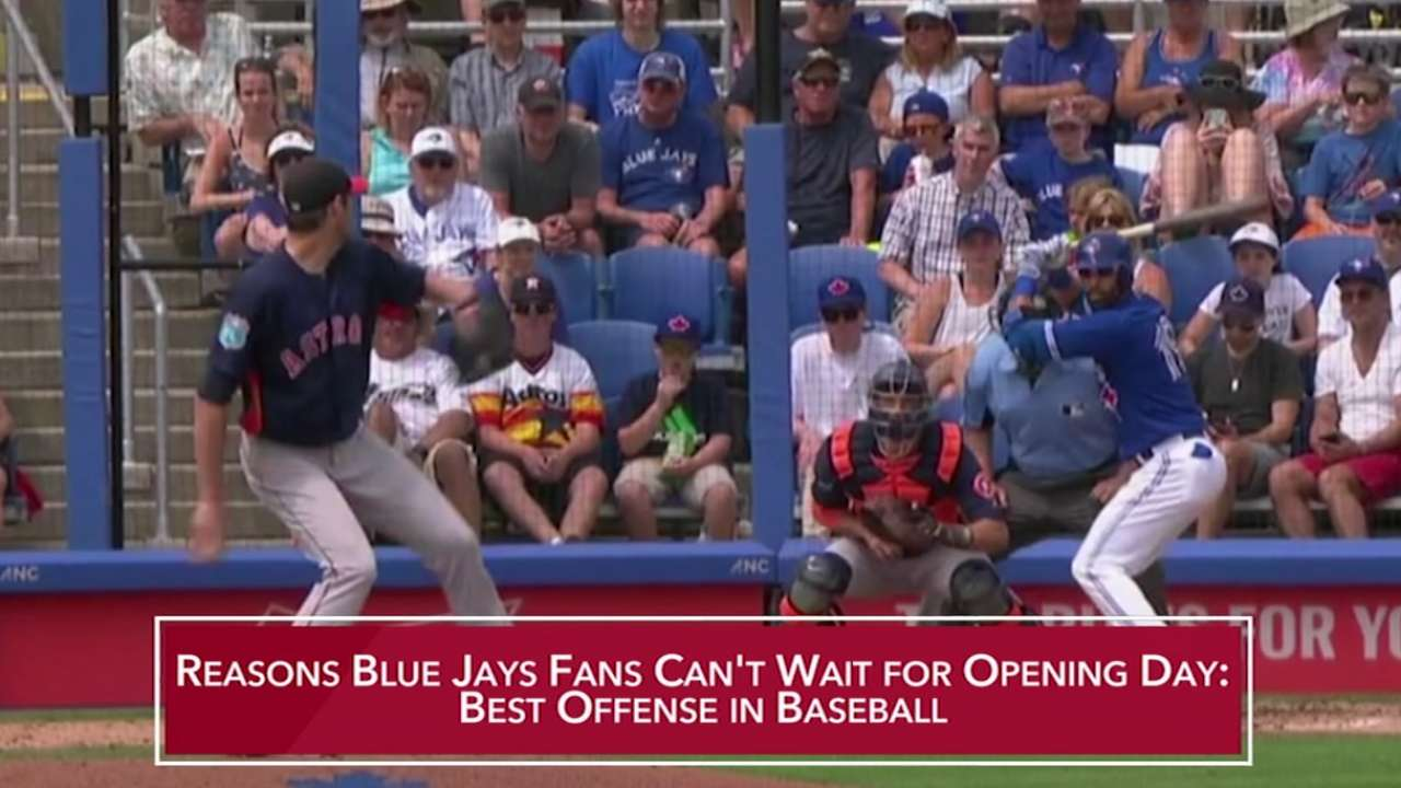 Blue Jays ready to build on success of 2015