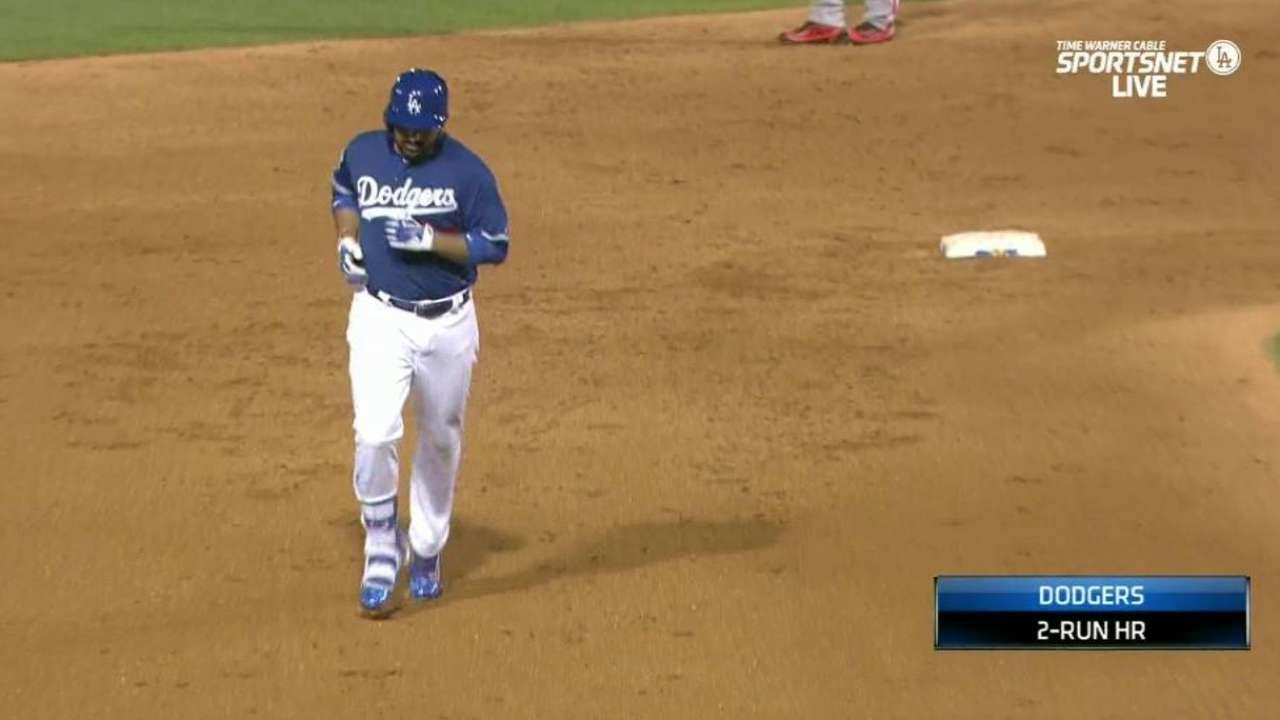 Adrian's two-run home run