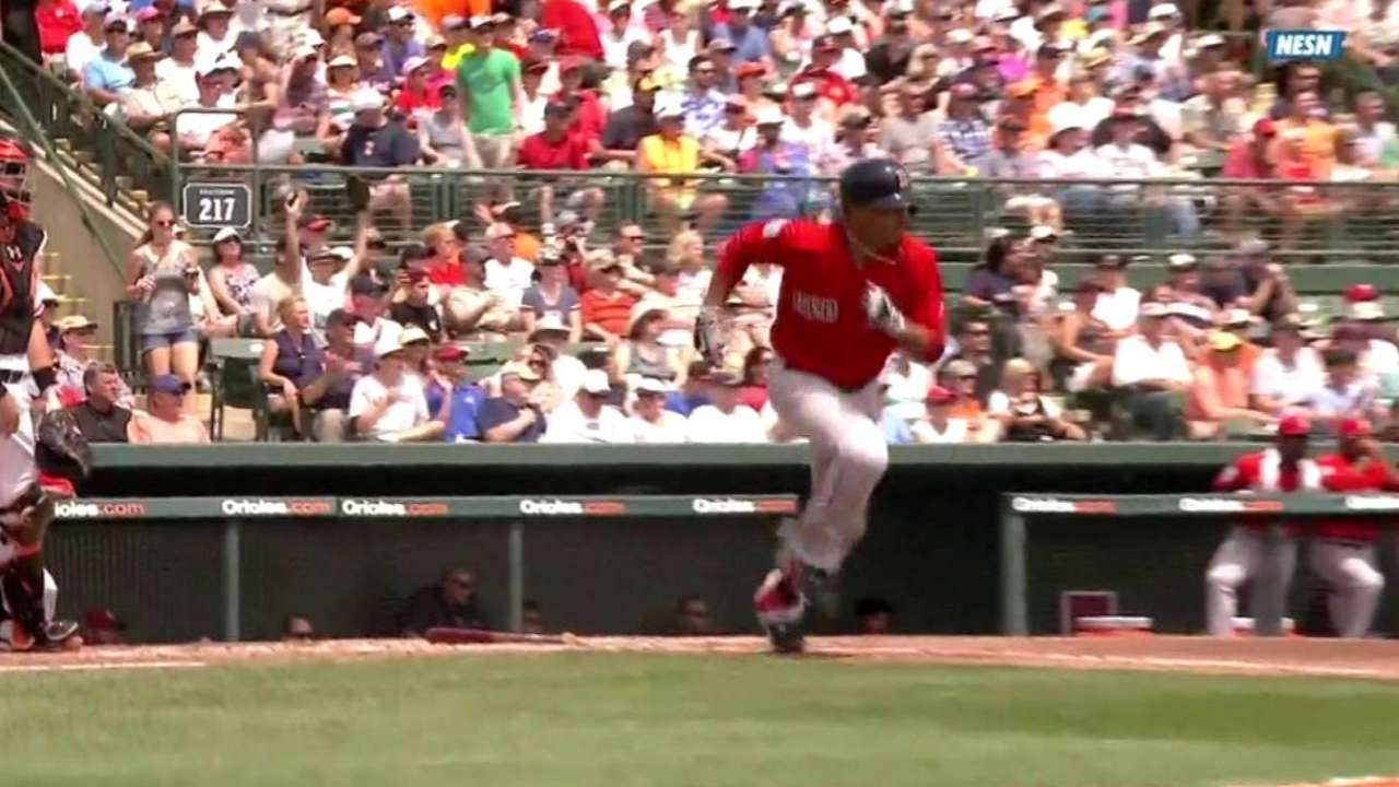 Betts' RBI single