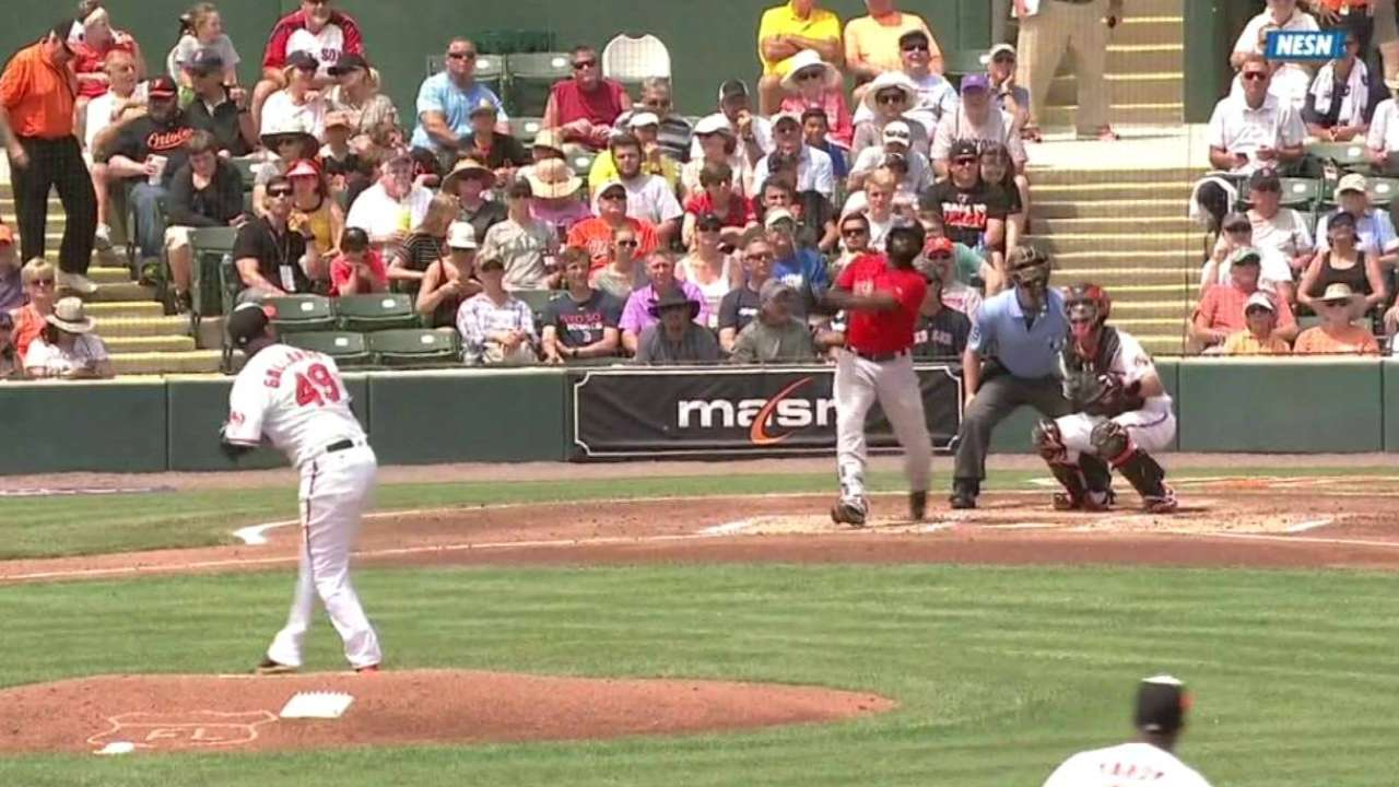 Bradley Jr.'s two-run homer