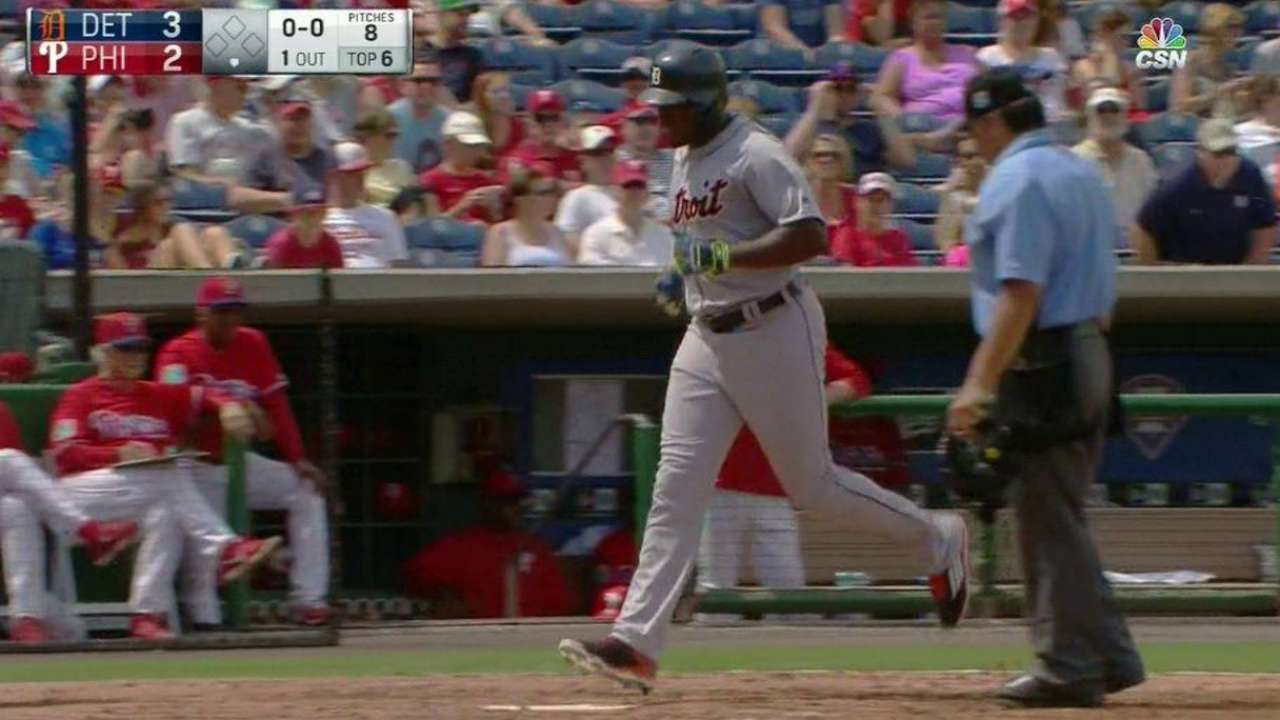 Upton's second homer