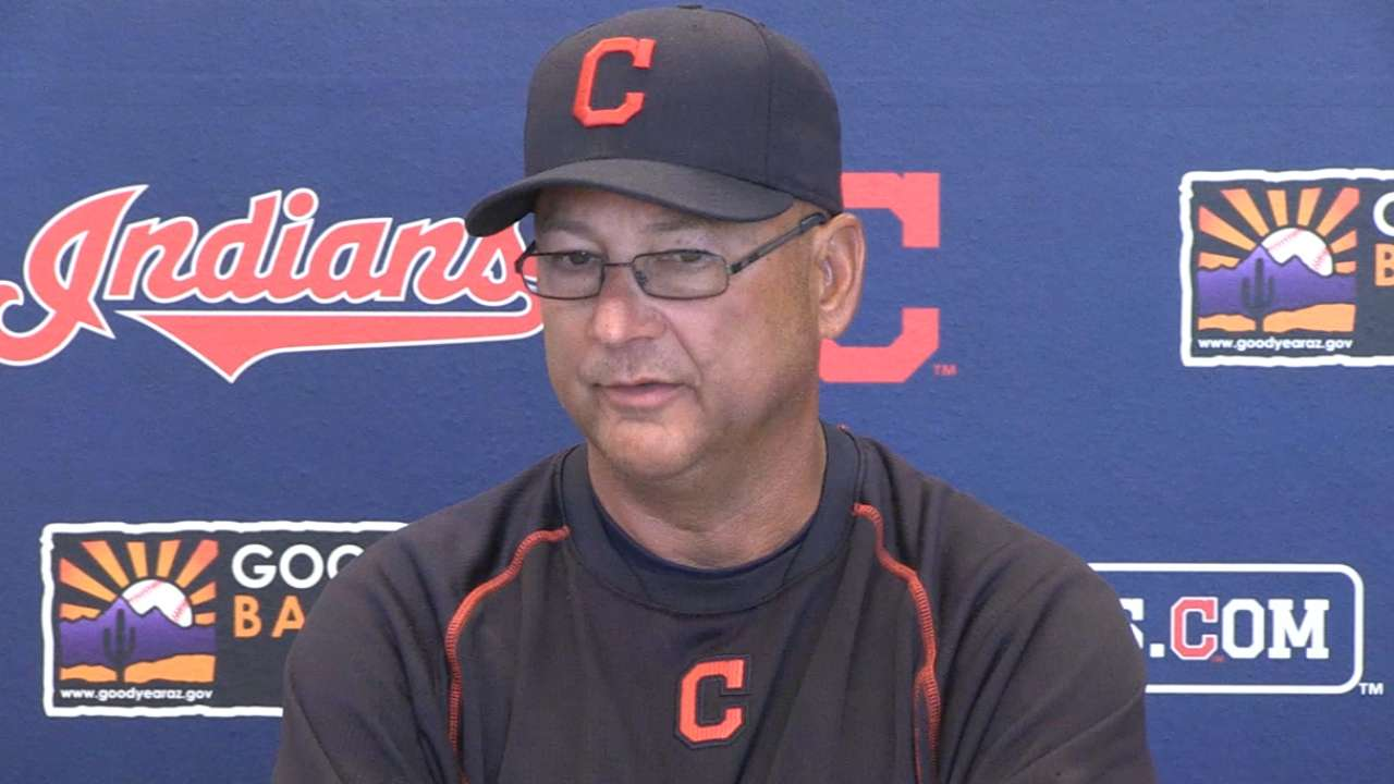 Chamberlain to make Indians' Opening Day roster