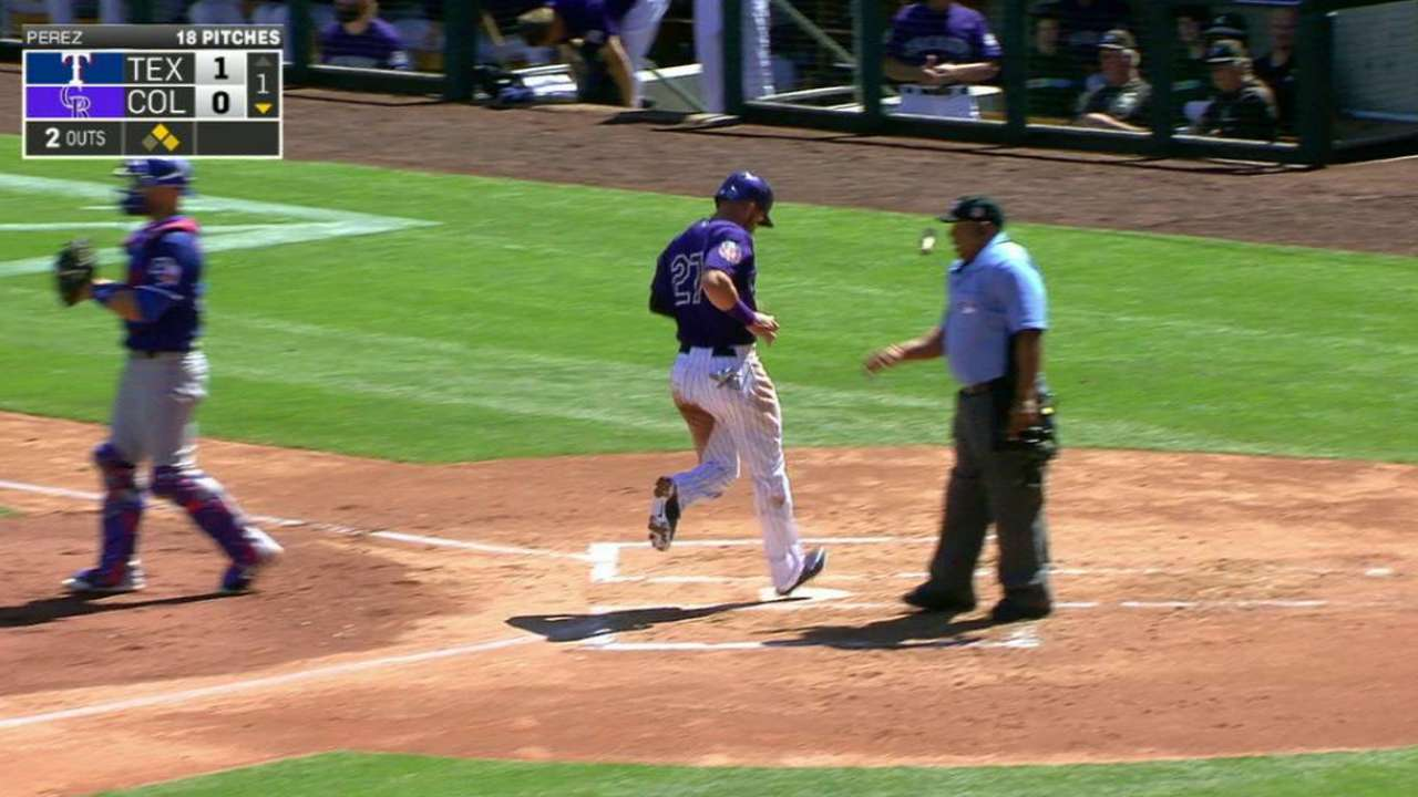 Arenado's RBI double
