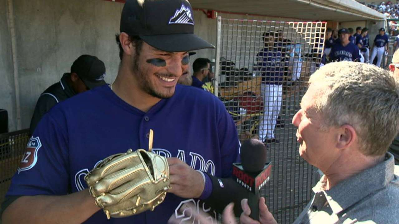 Arenado tells tales from youth on Network show